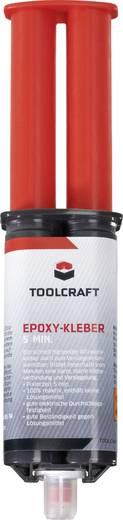 TOOLCRAFT Epoxy 5 Min. Zwei-Komponentenkleber 25 ml