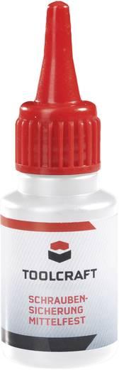 Schraubensicherung Festigkeit: mittel 10 ml TOOLCRAFT SCHRAUBENSICHERUNG MITTELFEST 886524