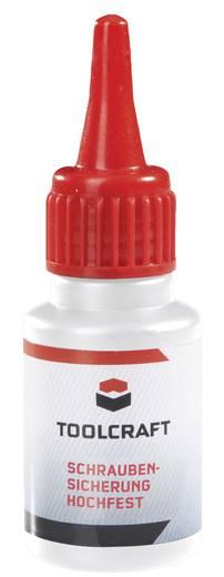 Schraubensicherung Festigkeit: hoch 10 ml TOOLCRAFT Frein-filet résistance élevée 886525
