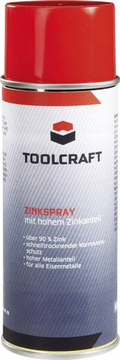 Zinkspray mit hohem Zinkanteil TOOLCRAFT 30179-AA 400 ml