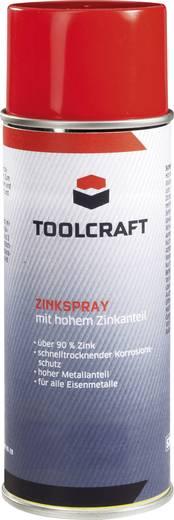Zinkspray mit hohem Zinkanteil TOOLCRAFT TC-ZNK-01400M 30179-AA 400 ml