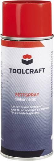 TOOLCRAFT Fettspray mit Silikon 400 ml