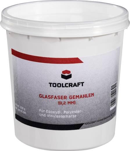 TOOLCRAFT Paillettes 6 mm Glasfaserschnitzel 886585 200 g