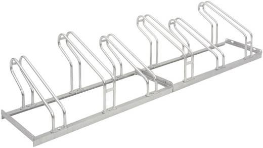 Fahrradständer 6 Plätze 1-seitig Moravia 169.13.416 Stahl Zink-Grau
