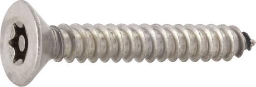 TOOLCRAFT 88115 Senkblechschrauben 4.8 mm 38 mm T-Profil mit Stift Edelstahl 10 St.