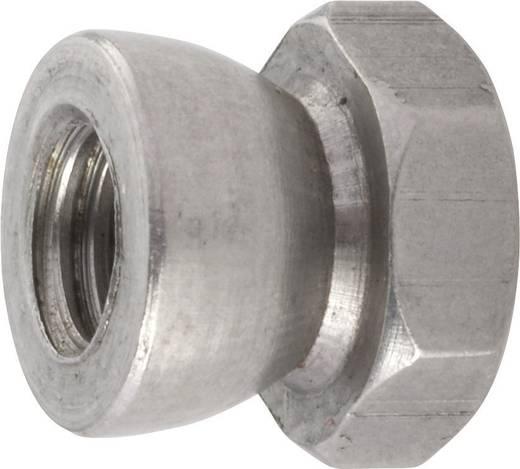 TOOLCRAFT 88118 Abreißmuttern M6 10 mm Edelstahl 10 St.