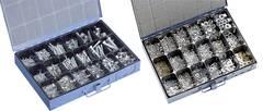 Sada spojovovacího materiálu v ocelovém kufříku, 4800 ks