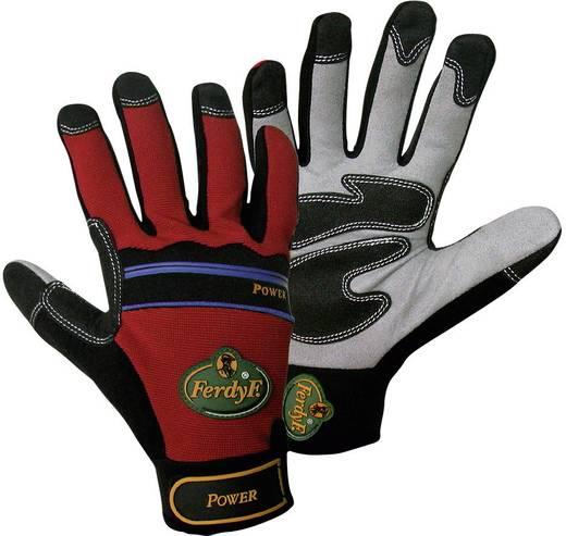 FerdyF. 1910 Handschuh Mechanics POWER CLARINO®-Kunstleder und Elasthan Größe (Handschuhe): 8, M