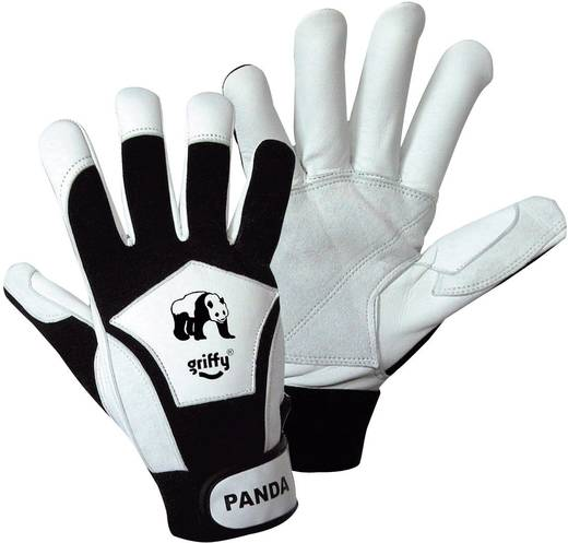 Nappaleder Montagehandschuh Größe (Handschuhe): 10, XL EN 388 CAT II L+D Griffy Panda 1730 1 Paar