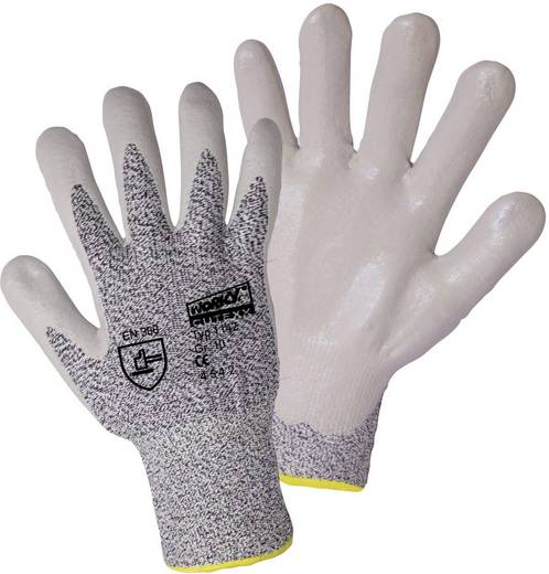 worky 1142 Schnittschutzhandschuh CUTEXX HPPE / Lycra mit Glasfaser mit Nitril-Beschichtung Größe 9