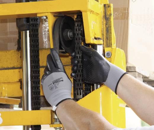 Nylon Arbeitshandschuh Größe (Handschuhe): 8, M EN 388 CAT II L+D worky NITRIL IGEL 1161 1 Paar