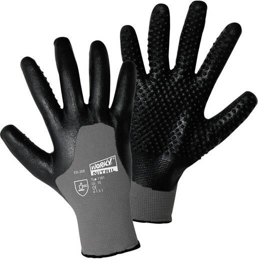 worky 1161 Feinstrickhandschuh Nitril-Igel 100% Nylon mit Nitril-Beschichtung Größe (Handschuhe): 8, M