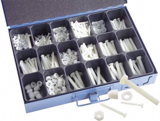 Kunststoffschrauben-Sortiment 1005 Teile 16900