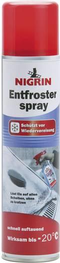Nigrin Entfrosterspray - Scheibenenteiser 74045 400 ml
