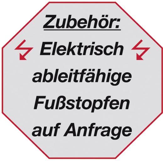 Aluminium Stufen-Doppelleiter Arbeitshöhe (max.): 3.30 m Krause STABILO® 124913 Silber 7.5 kg