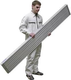 Image of Aluminium Teleskop-Bohle Krause 123701 Silber 12 kg