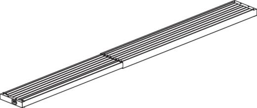 Krause 123718 TeleBoard Teleskop Alu-Diele Aluminium (L x B x H) 2.04 x 0.30 x 0.06 m