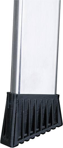 Krause 126658 Aluminium Stufen-Stehleiter Arbeitshöhe (max.): 3.30 m Silber 6 kg