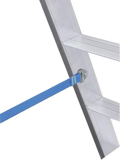 Aluminium Stufen-Doppelleiter Arbeitshöhe (max.): 4.60 m Krause STABILO® 124944 Silber 13.5 kg