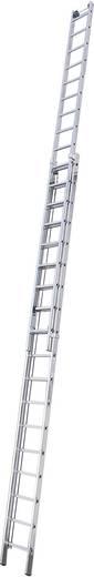 Aluminium Seilzugleiter Arbeitshöhe (max.): 10.95 m Krause 800701 Silber 33 kg