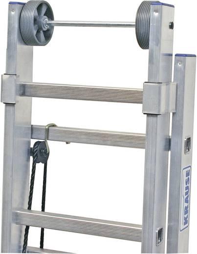 Aluminium Seilzugleiter Arbeitshöhe (max.): 13.10 m Krause 800749 Silber 39.5 kg