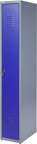 Armoire de vestiaire à encastrer bleu Küpper 70767