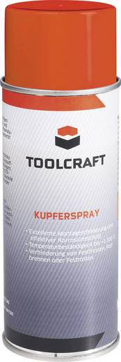 TOOLCRAFT Kupferspray 400 ml
