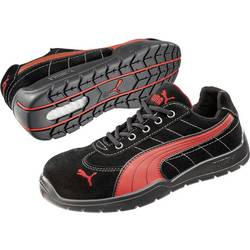 Bezpečnostná obuv S1P PUMA Safety SILVERSTONE LOW HRO SRC 642630, veľ.: 41, čierna, červená, 1 pár