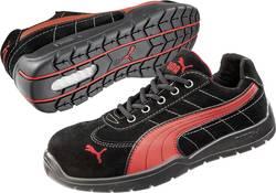 Bezpečnostná obuv S1P PUMA Safety SILVERSTONE LOW HRO SRC 642630, veľ.: 45, čierna, červená, 1 pár
