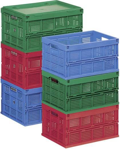 Klappbox (L x B x H) 600 x 400 x 320 mm Blau 91093 1 St.