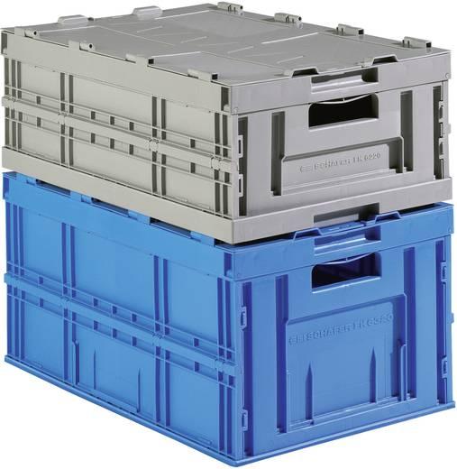 Auflagendeckel (L x B x H) 610 x 410 x 80 mm Blau 91094 1 St.