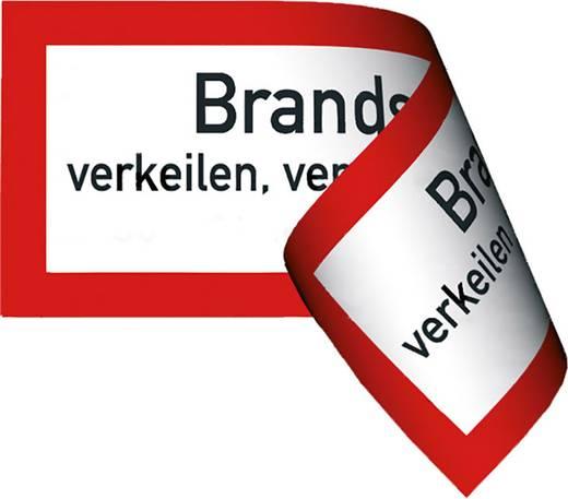 Brandschutztür verkeilen, verstellen, festbinden o. ä. verboten 478A (B x H) 297 mm x 105 mm