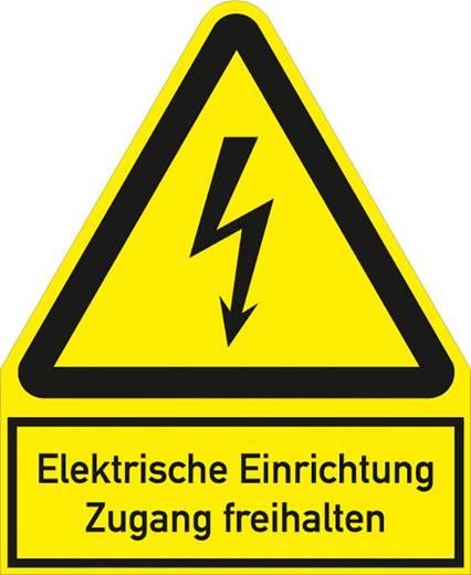Elektrische Einrichtung Zugang freihalten mit Symbol 5234F244 (B x H) 200 mm x 244 mm