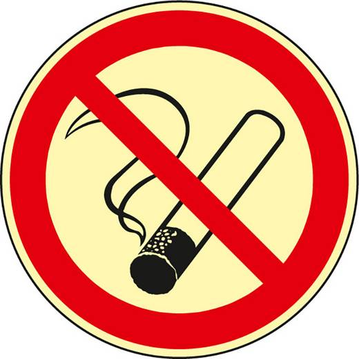Rauchen verboten 610FHL20 (Ø) 200 mm