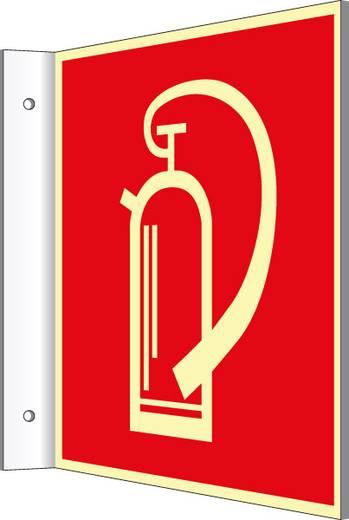 Brandschutzschild Aluminium (B x H) 148 mm x 148 mm 1 St.