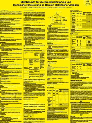 Merkblatt für die Brandbekämpfung im Bereich Kunststoff 8971K kaufen