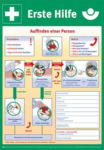 Erste Hilfe nach DGUV Information 204-001, ehem. 9771K Kunststoff 9772K