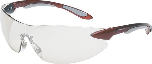 Schutzbrille Honeywell Ignite 1017084 Rot, Silber DIN EN 170, DIN EN 166-1