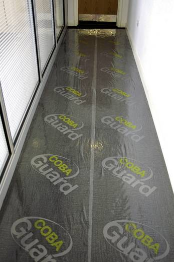 COBA Europe Coba Guard Carpet Protector (Teppichschutz) Transparent LxBxH (25 m x 1.2 m x 90 μm)