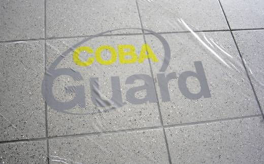 COBA Europe Bodenschutzfolie Coba Guard Transparent LxBxH (25 m x 1.2 m x 50 μm)