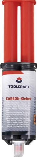 TOOLCRAFT Colle carbone Zwei-Komponentenkleber 888289 25 ml