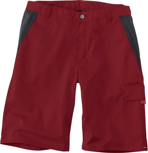 Kübler Active Wear 2886 5413-5599 Bermuda INNO PLUS 52 Mittelrot, Schwarz