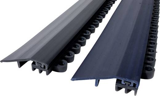 COBA Europe Premier Verbinder Randleiste Schwarz LxBxH (900 mm x 50 mm x 15 mm)