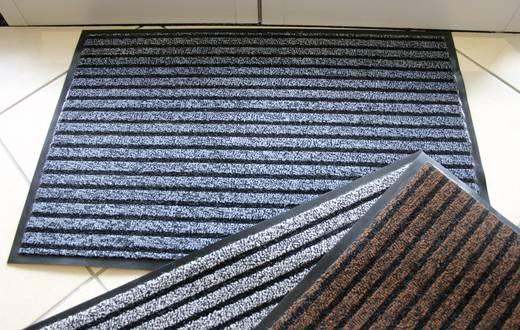 COBA Europe Eingangsmatte DUO - 0,6 x 0,9 m Schwarz, Grau LxBxH (900 mm x 600 mm x 9 mm)