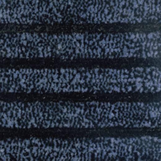 COBA Europe Eingangsmatte DUO - 0,9 x 1,5 m Schwarz, Blau LxBxH (1500 mm x 900 mm x 9 mm)