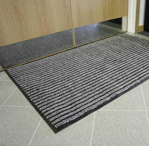 COBA Europe Eingangsmatte DUO - 0,9 x 1,5 m Schwarz, Braun LxBxH (1500 mm x 900 mm x 9 mm)