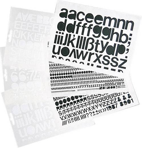 Selbstklebende Kleinbuchstaben weiß Folie selbstklebend weiß 1391KW50