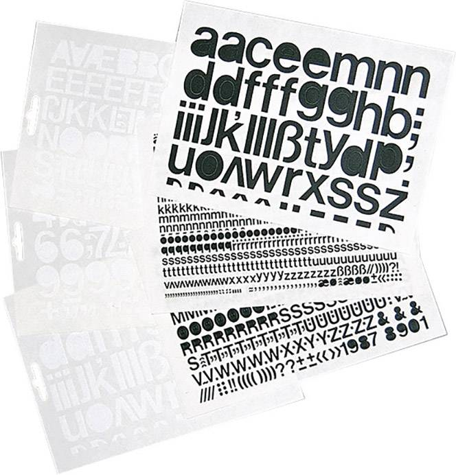 Unterschiedlich Selbstklebende Ziffern schwarz Folie selbstklebend 1391ZS75 online  PX51