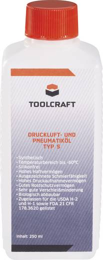 TOOLCRAFT 888980 Druckluft- & Pneumatiköl Typ S 250 ml