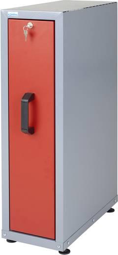 Küpper 12162 Einbauschrank mit Auszug rot (B x H x T) 230 x 760 x 470 mm